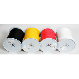 Basic Nature ropes on 200 meter rolls 5mm, white